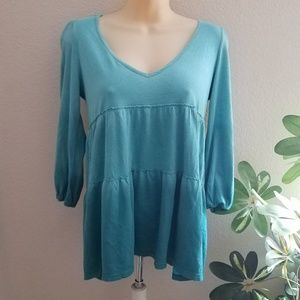 Boho Green Swing Top